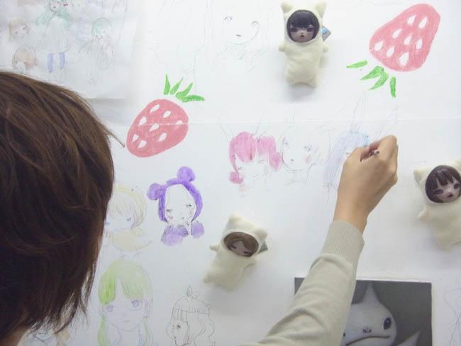 田川春菜・ペインティング