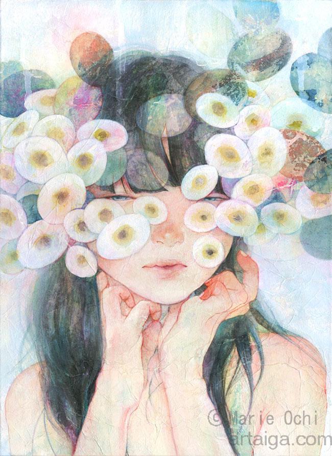 オチマリエ☆目の周りお花 2